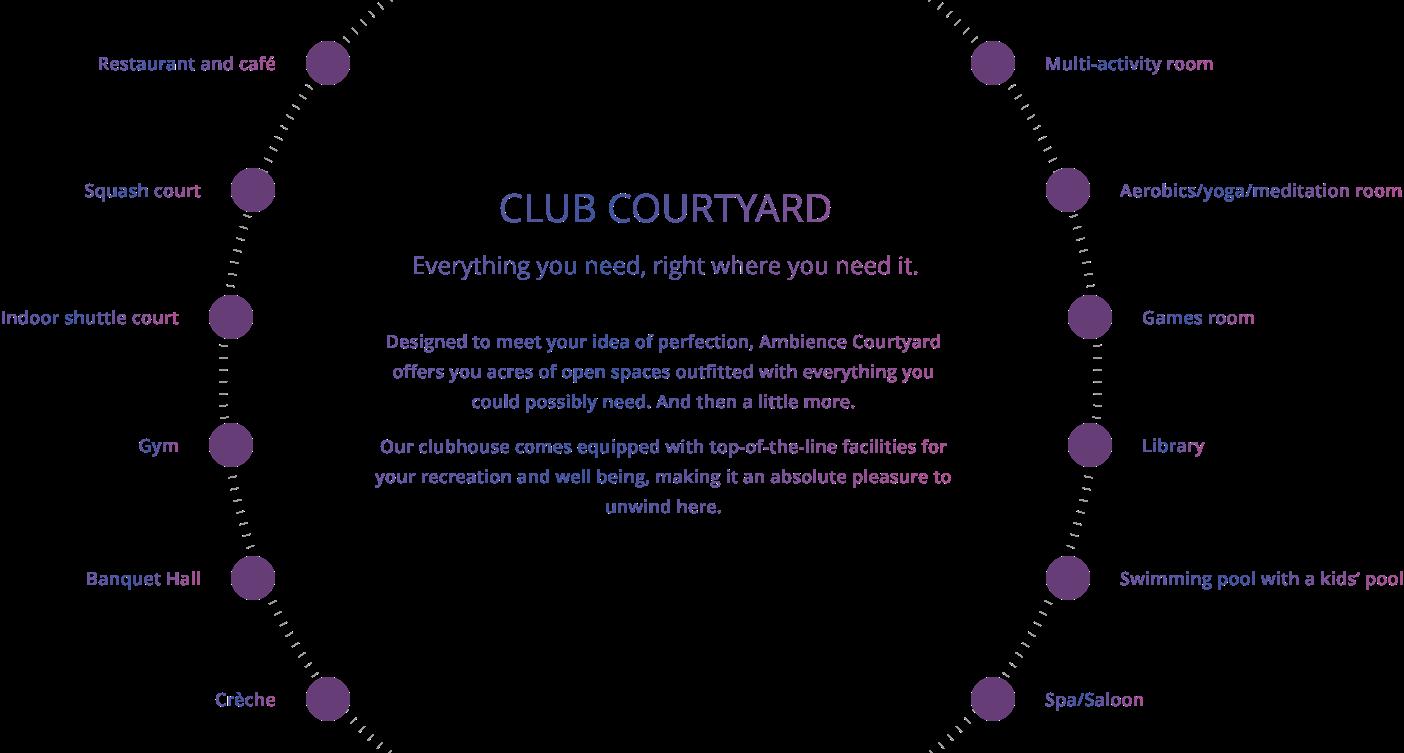 Club Courtyard